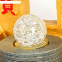 Фонтан китайская золотая монета 40х22х20 см