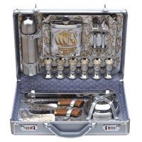 Кейс для пикника подарочный «серебристый парус» 104ki6