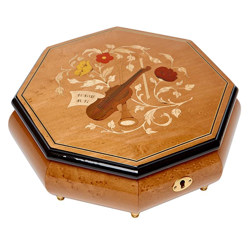 Шкатулка для ювелирных украшений музыкальная, арт. Aw-02-063