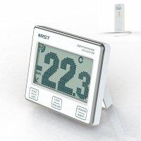 Электронный термометр с радиодатчиком Dot Matrix 788