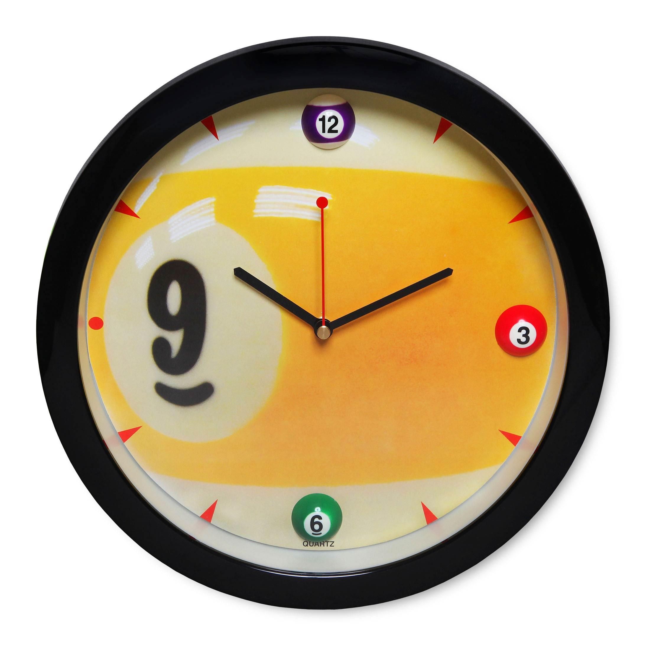 Часы бильярд Sn5025 ?29,5см