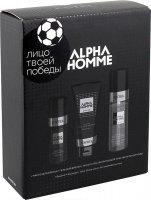 Набор Ah/shvk для бритья Alpha Homme Shave Kit (масло для бритья, гель для