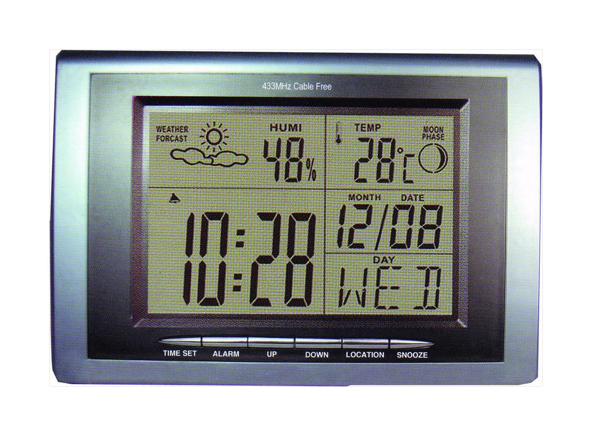 Цм-001 метеостанция настольная цифровая
