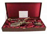 Подарочный набор для обуви 3 предмета (бол) денщик арт. вдн-38-лошадь