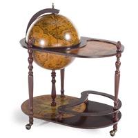 Jg42004r глобус бар со столиком напольный D 42