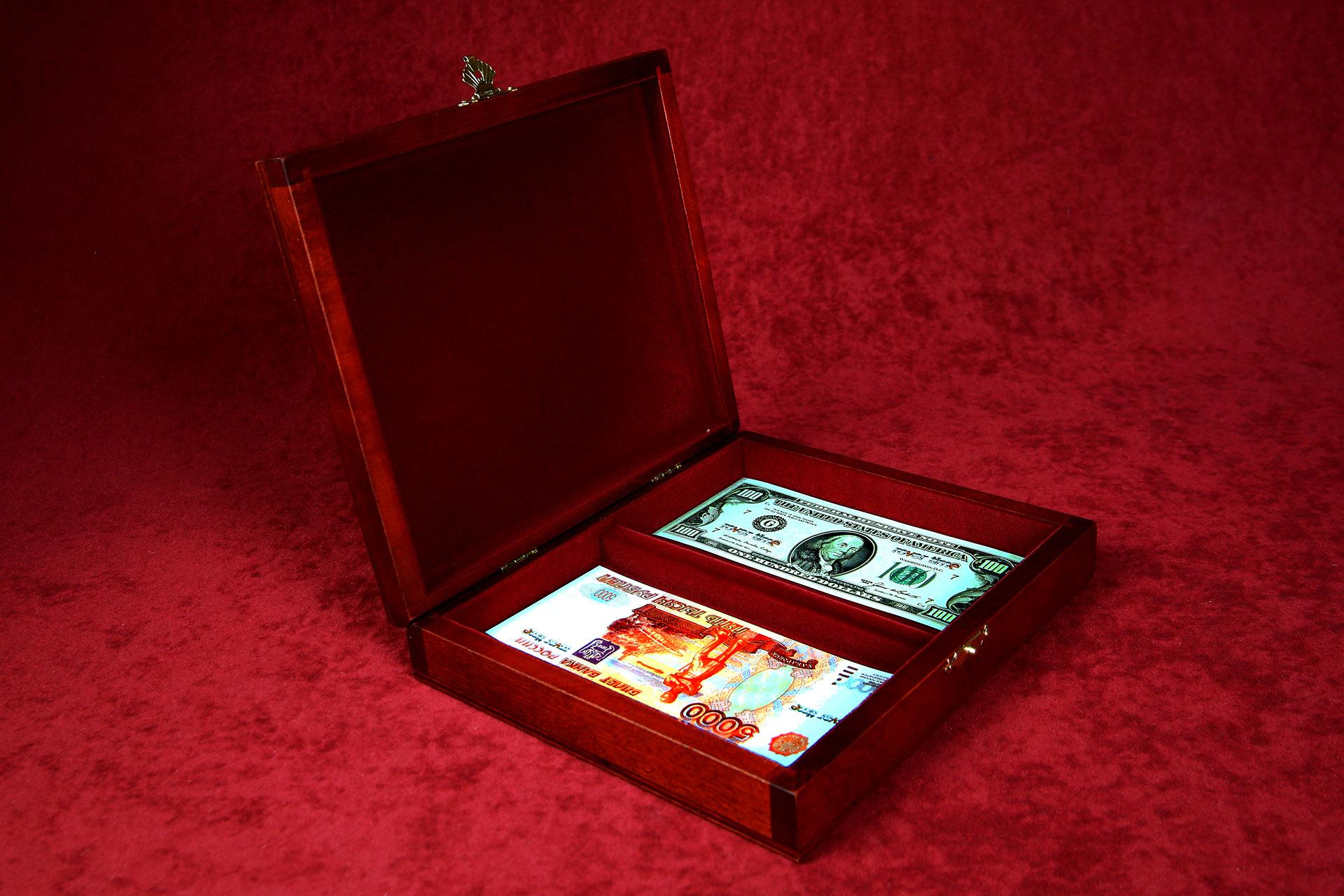Rt-28 денежная шкатулка (для двух валют)