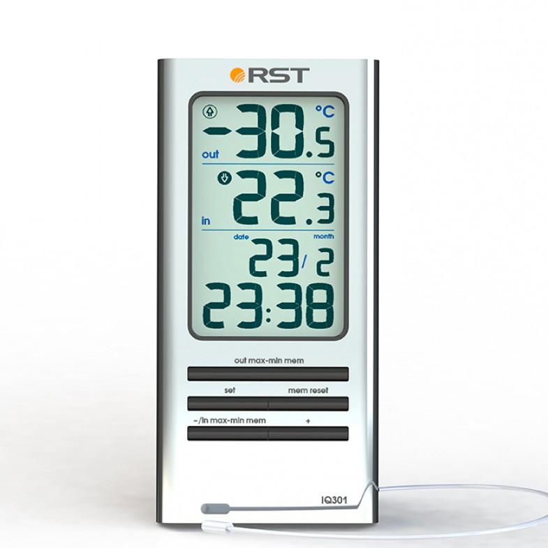 Электронный термометр с выносным сенсором Iq301