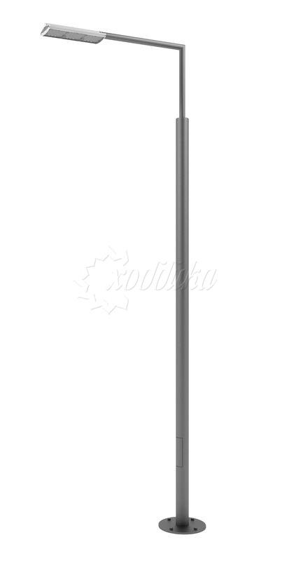 Стальной фонарный столб «поло-э» со светильником 4,4 м.(120 вт)