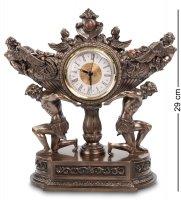 Часы чаша урожая на плечах атлантов