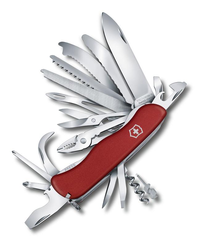 Нож перочинный Victorinox Workchamp Xl, 111 мм, 31 функция, с фиксатором л
